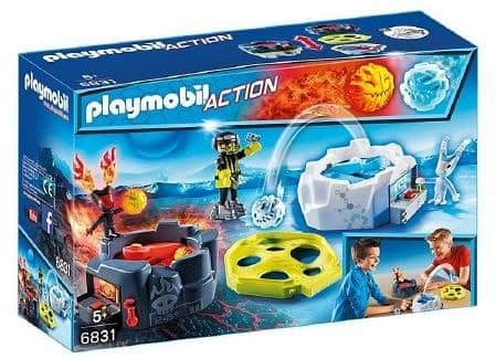 Playmobil Gra Fire & Ice Action Game 6831