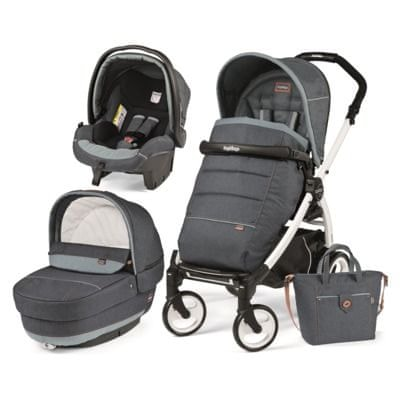 Peg Perego modularni sistem Book 51 Black&White, Elite, Blue Denim