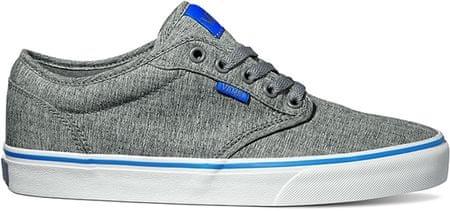 Vans moški čevlji Atwood (S17 Textile), sivi/modri, 45