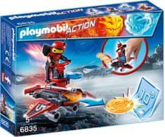Playmobil 6835 Firebot z zaganjalnikom