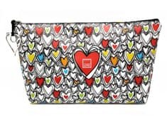Make Notes toaletna torbica Colorful Hearts