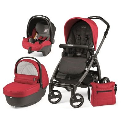 Peg Perego modularni sistem Book S Jet, XL, Bloom Red