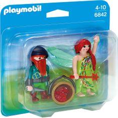 Playmobil 6842 Duo Pack Víla s trpaslíkem