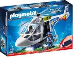 Playmobil 6921 Policijski helikopter z LED lučmi