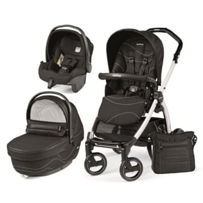 Peg Perego modularni sistem Book S Black&White, XL, Bloom Black