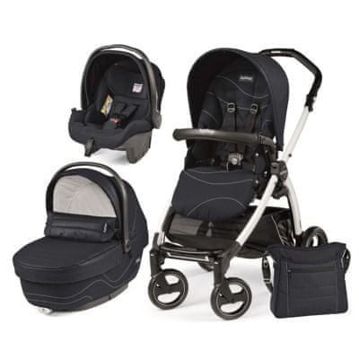 Peg Perego modularni sistem Book S Black&White, XL, Bloom Navy