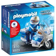 Playmobil 6923 Policijski motor z lučko