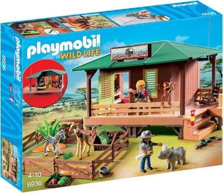 Playmobil 6936 Dom strážcu parku s ošetrovňou zvierat