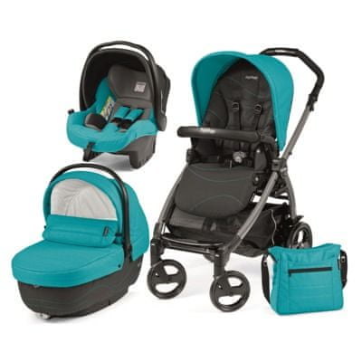 Peg Perego modularni sistem Book 51 Jet, XL, Bloom Scuba