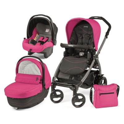Peg Perego modularni sistem Book 51 Jet, XL, Bloom Pink