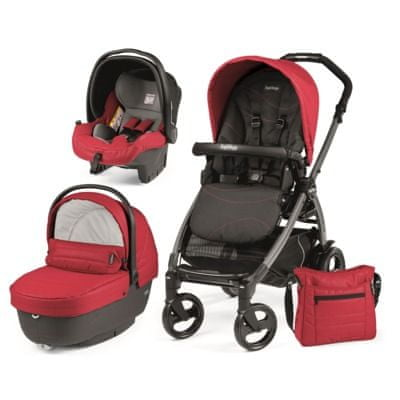 Peg Perego modularni sistem Book 51 Jet, XL, Bloom Red