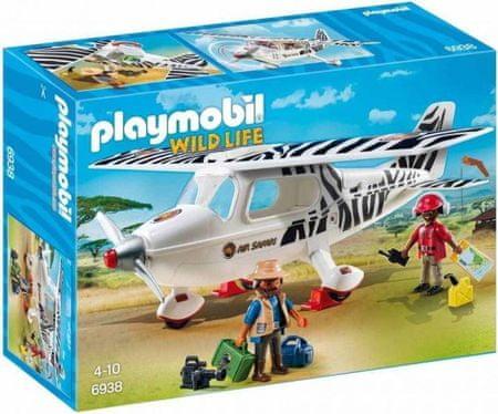 Playmobil 6938 Safari lietadlo