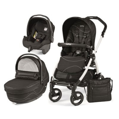 Peg Perego modularni sistem Book 51 S Black&White, XL, Bloom Black