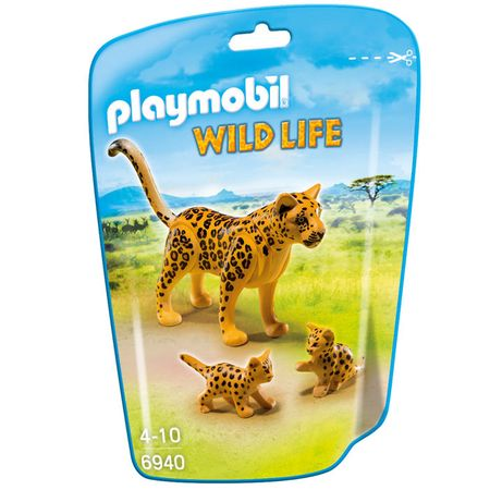 Playmobil 6940 Leopárd és kicsinyei