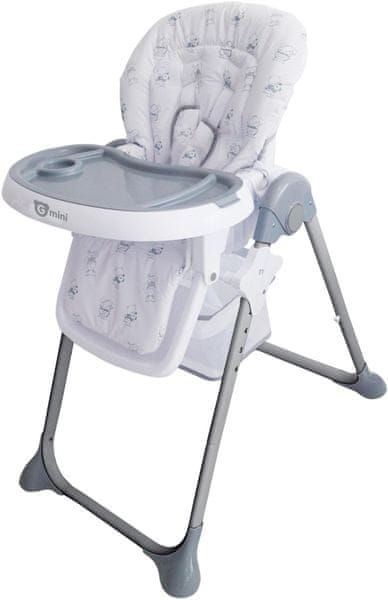 G-mini Jídelní židle Simply, Bears, šedá
