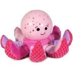 Cloud B Octo Softeez - Pink - Lampka Ośmiornica, różowy