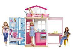 Mattel Barbie hiša 2 v 1 s punčko