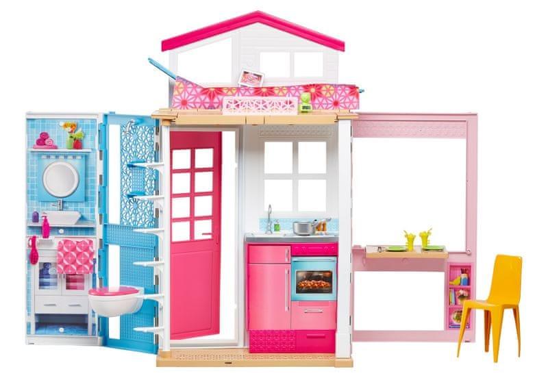 Mattel Barbie dům 2 v 1