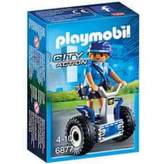 Playmobil 6877 Policistka na dvokolesniku