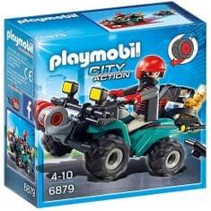 Playmobil 6879 Roparjev štirikolesnik s plenom
