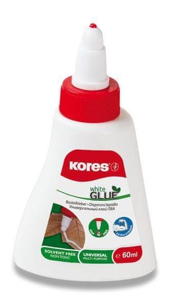 Lepidlo KORES White Glue 250 g (bílé)