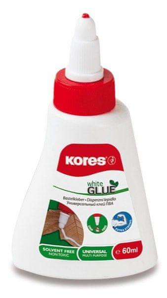Lepidlo KORES White Glue 60 g (bílé)