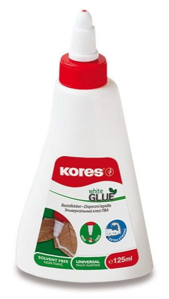 Lepidlo KORES White Glue 125 g (bílé)