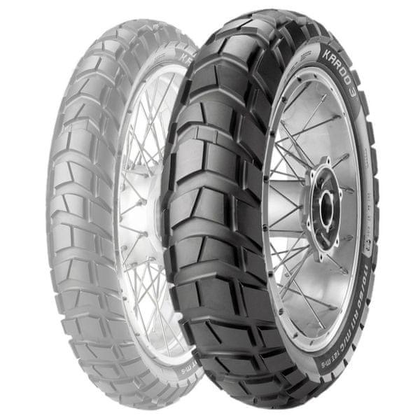 Metzeler enduro pneu 150/70 - 18 M/C 70R M+S Karoo 3 zadní