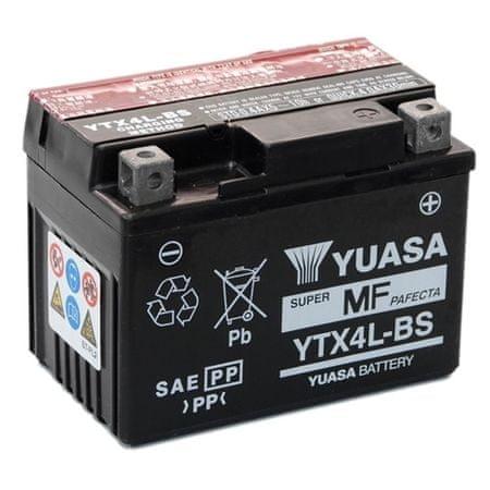 Yuasa batéria  12V 3Ah YTX4L-BS (dodávané s kyselinovú náplňou)