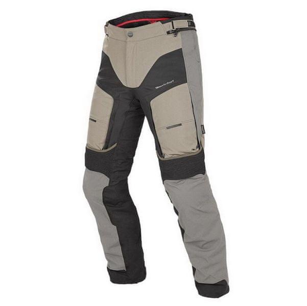 Dainese pánské kalhoty D-EXPLORER GORE-TEX vel.58 písková/černá/šedá, textilní