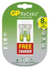 GP polnilne baterije ReCyko Ni. Mh 2 x AAA