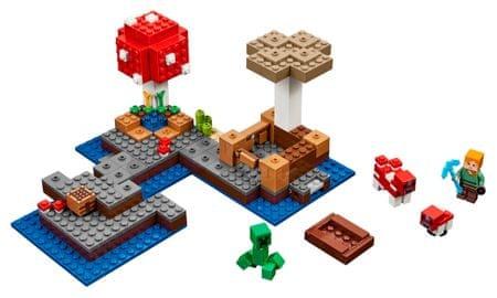LEGO Minecraft 21129 Grzybowa Wyspa