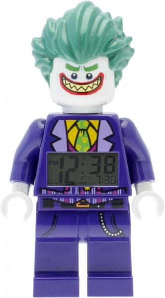 LEGO® Batman Movie Joker - hodiny s budíkem