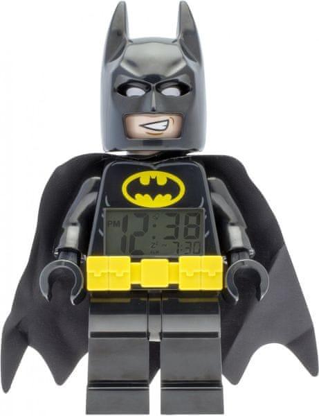 LEGO® Batman Movie Batman - hodiny s budíkem