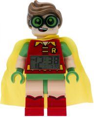LEGO Batman Movie Robin - hodiny s budíkom