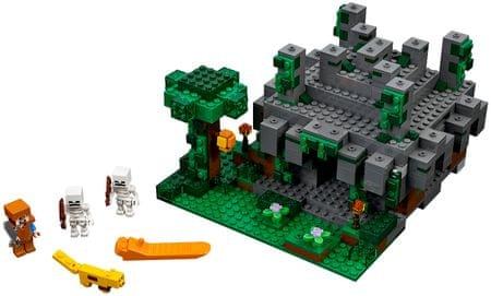 LEGO® Minecraft 21132 Džungelski tempelj