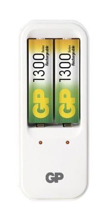 GP polnilec baterij GP PB410 + 2 AA 1300