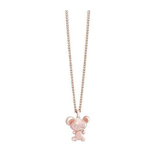 Guess Pozlacený náhrdelník s myškou UBN71508