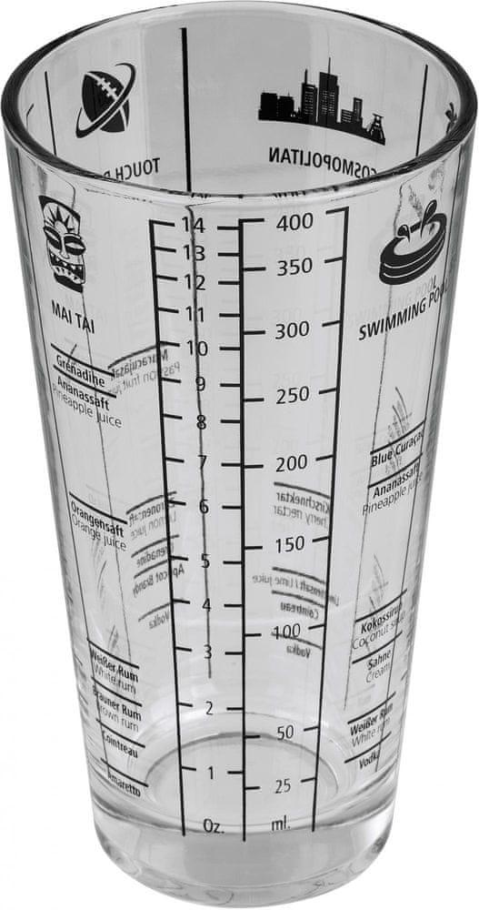 Hama Xavax skleněný šejkr, 400 ml