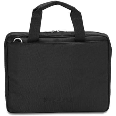 Picard poslovna torba Notebook Basic, črna