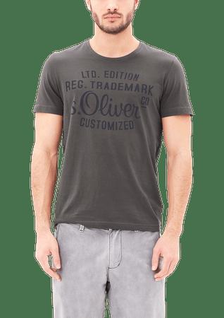 s.Oliver pánské tričko XXL sivá