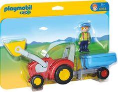 Playmobil 6964 Traktor s prívesom