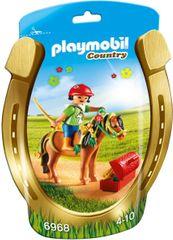 """Playmobil Kucyk z ozdobą """"kwiatuszek"""" 6968"""