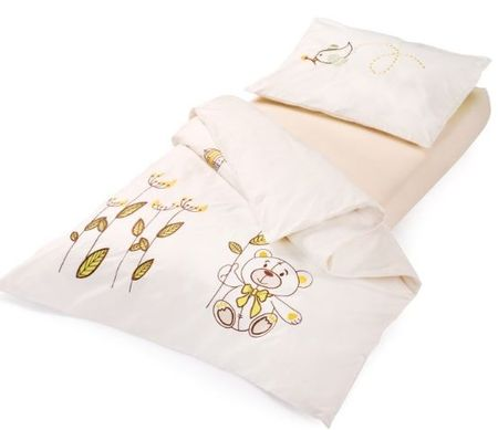 Vitapur otroška posteljnina Junior Bamboo, 40x60 + 100x140 cm