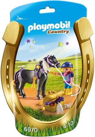 """Playmobil 6970 Zdobenie poníkov """"Hviezdička"""""""