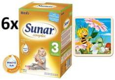 Sunar Complex 3 - 6 x 600g + Puzzle Včelka Mája