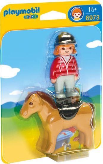 Playmobil jahalec s konjem (6973)