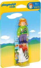 Playmobil 6975 Holčička s kočičkou (1.2.3)