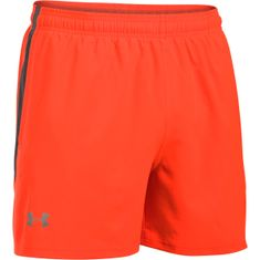 Under Armour Launch SW 5'' Short Phoenix Fire Rhino Gray Reflective