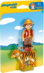 Playmobil 6976 Strážce s tygrem (1.2.3)